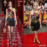 Rita Ora In Versace at  X Factor London Auditions