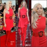 Rita Ora in Versace at 'The X Factor' Manchester Auditions