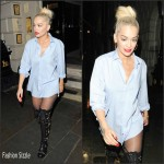 Rita Ora Streetyle – Out in London, July 2015