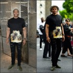 Russell Westbrook  rocks Givenchy at Givenchy Men's Show  in Paris