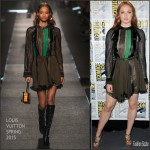 Sophie Turner in Louis Vuitton at  Game of Thrones Panel  2015 Comic Con in San Diego