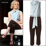 Taylor Schilling  in   Phillip Lim  – 2015 Summer TCA Tour