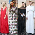 Valentino 'Mirabilia Romae' Fall 2015 Couture Front Row