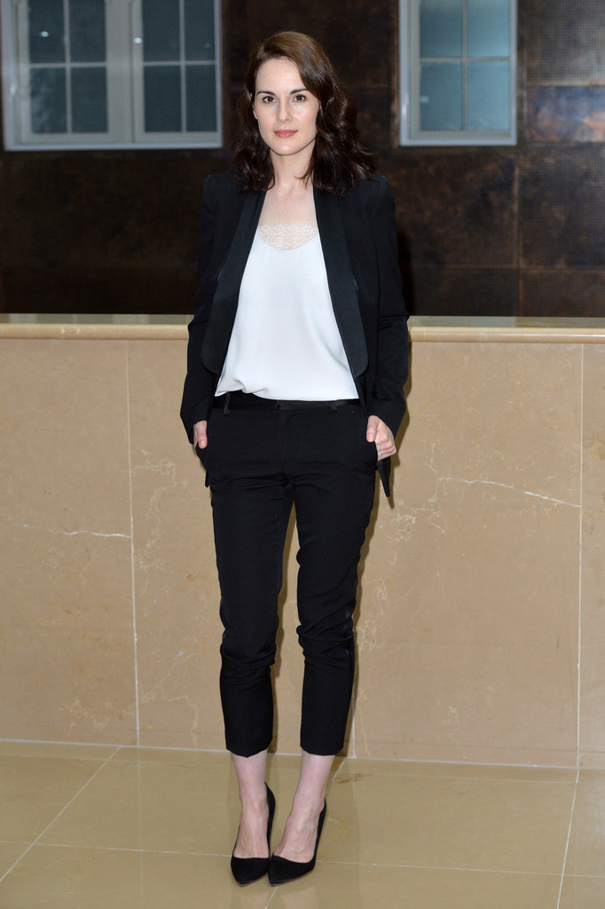 Michelle- Dockery- at- the- 'Downton- Abbey-' Press- Launch