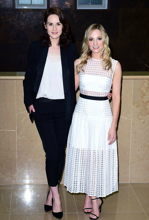 Michelle- Dockery- at- the- 'Downton- Abbey-' Press- LaunchMichelle Dockery at the 'Downton Abbey' Press Launch