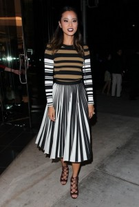 FASHION SIZZLER OF THE DAY :   JAMIE CHUNG IN GIVENCHY AND PROENZA SCHOULER