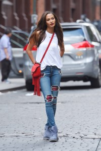 Joan Small  streetstyle – Out in New York