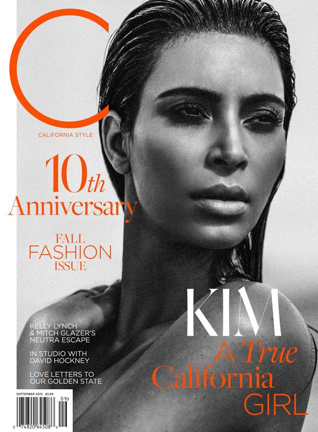 Kim Kardashian Covers C Magazine September 2015