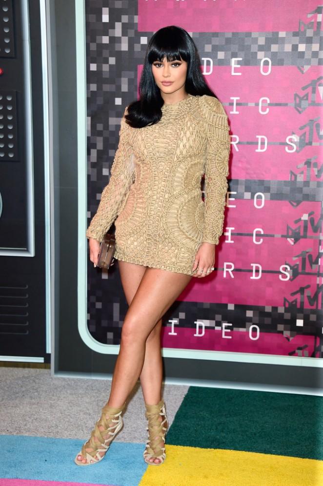 Kylie-Jenner-in- balmain-2015-MTV-Video-Music-Awards-