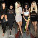 Kylie Jenner – Celebrates Her 18th Birthday at The Nice Guy in West Hollywood