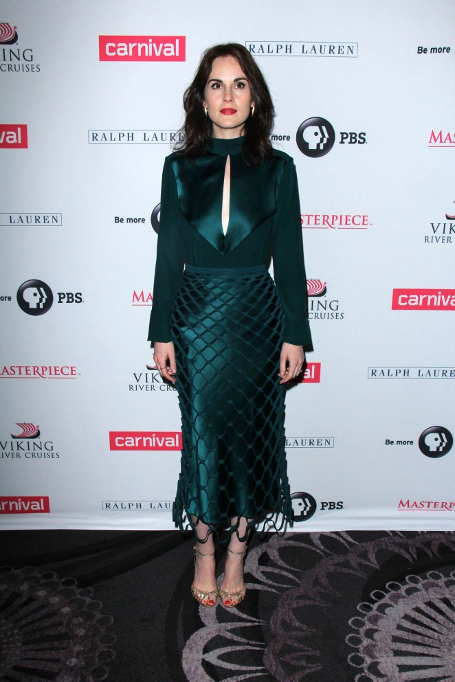 Michelle-Dockery--Downton-Abbey-Photocall-