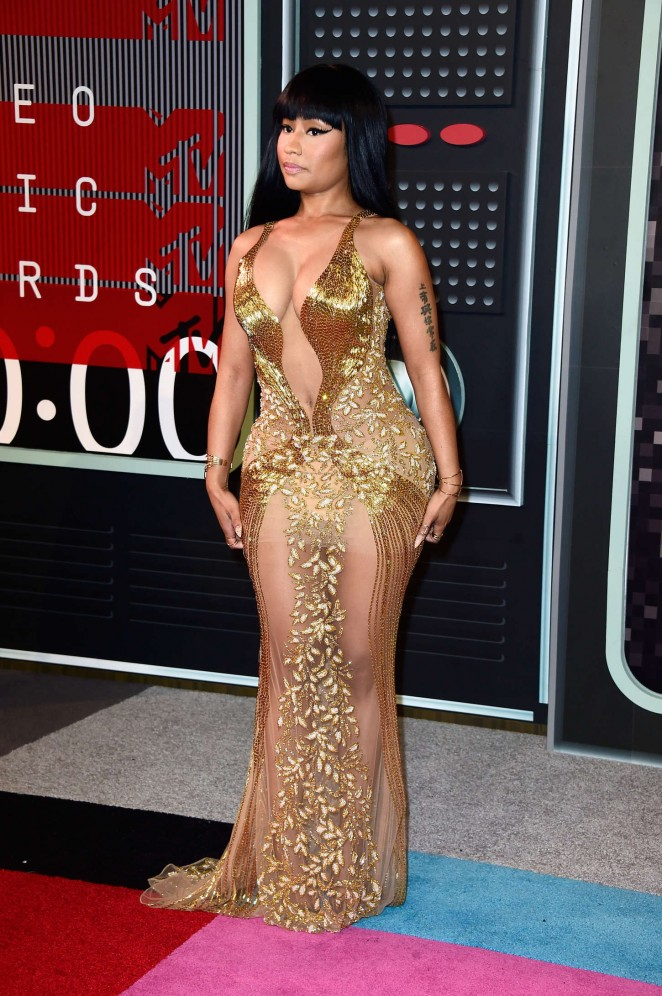 Nicki Minaj In Labourjoisie A T The 2015 Mtv Video Music Awards Fashionsizzle