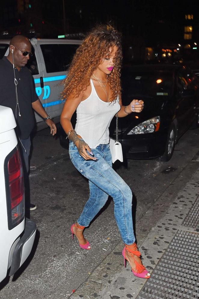 Rihanna--SOBs-Nightclub