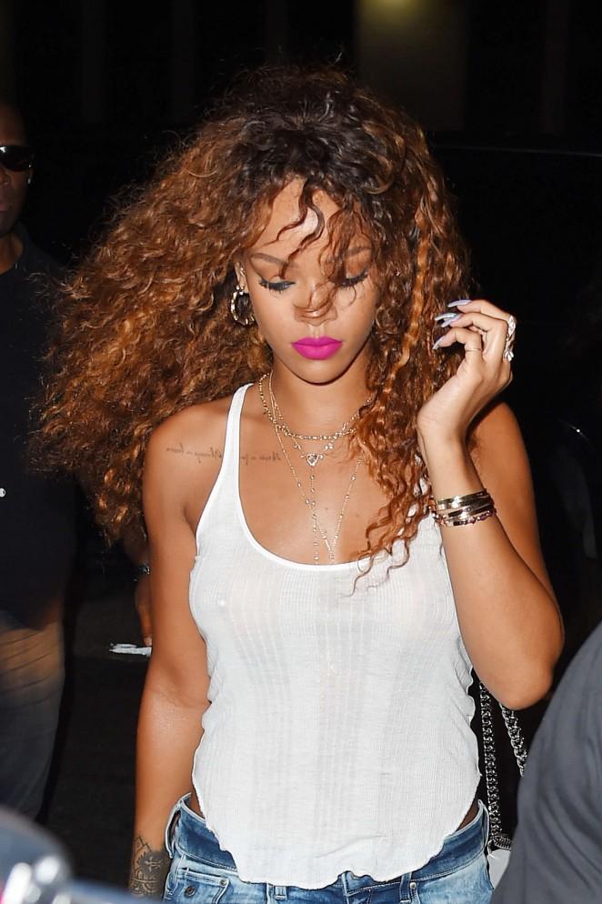 Rihanna--SOBs-Nightclub-