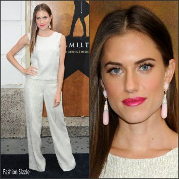 allison-williams-in-oscar-de-la-renta-hamilton-broadway-opening-night