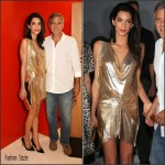 Amal Clooney In Vionnet  AT  Casamigos Tequila Launch