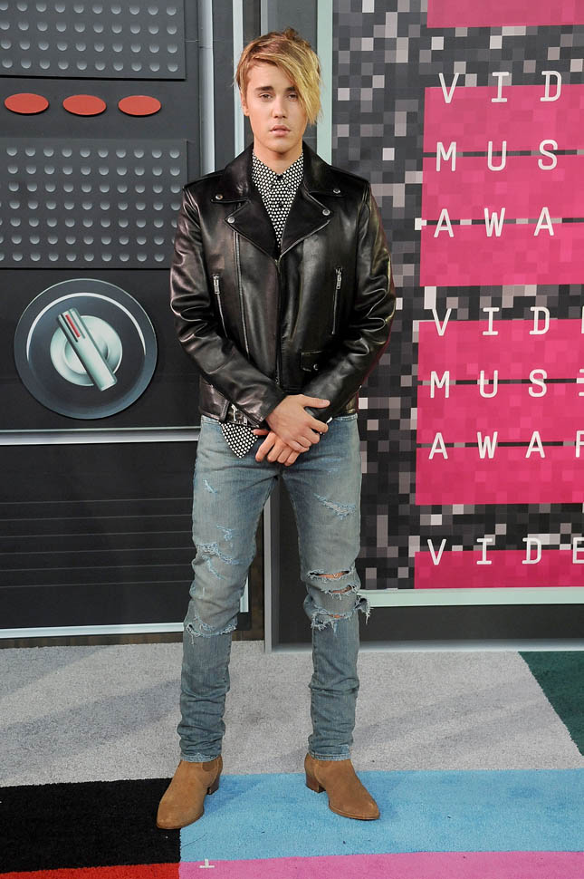 justin-bieber-2015 -MTV Video Music Awards - Arrivals-