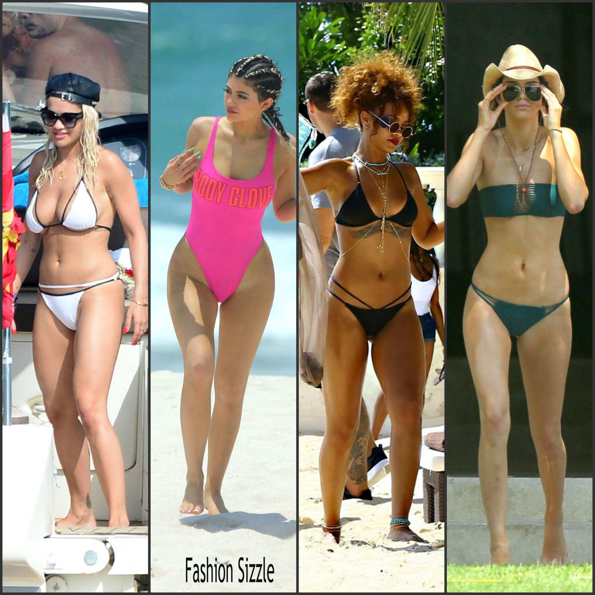 Celebrities In Swimsuits Summer 2015