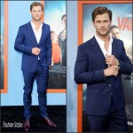 Chris Hemsworth in Prada – Vacation LA Premiere
