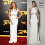 Connie Britton In SAFiYAA  AT  'American Ultra' LA Premiere