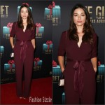 Crystal Reed In Bec & Bridge  AT 'The Gift' Sydney Premiere