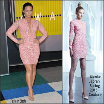 demi-lovato-in-nicolas-jebran-couture-2015-mtv-video-music-awards