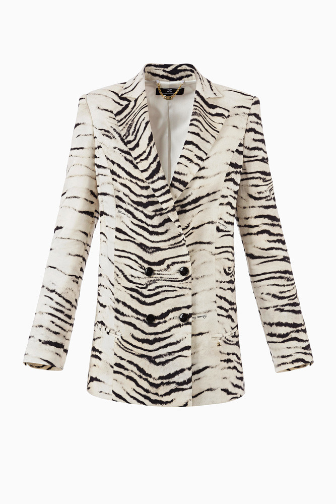 elisabetta-franchi-tiger-stripe-blazer-