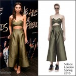 Emily Ratajkowski In Solace London  At  'We Are Your Friends' Tour Stop Photocall And After Party