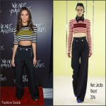 Emily Ratajkowski In Marc Jacobs  At  'We Are Your Friends' Chicago Premiere
