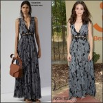 Emmy Rossum  in Thakoon– Microsoft and Best Friends Animal Society, Upgrade Your World event in Los Angeles
