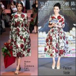 Fan Bingbing In Dolce & Gabbana – 'Lady of the Dynasty' Beijing Press Conference