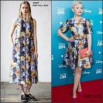 Ginnifer Goodwin In Suno  AT  D23 Expo