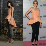 Greta Gerwig In Rosie Assoulin –  'Mistress America' London Photocall