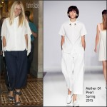 Gwyneth Paltrow in Mother of Pearl  – H.R.1599 News Conference