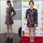 Holland Roden In Caterina Gatta  At 'Digging For Fire' LA Premiere