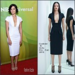 Jaimie Alexander In Cushnie et Ochs At NBCUniversal Press Tour 2015