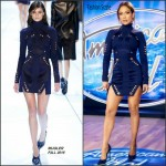Jennifer Lopez In Mugler At  American Idol Philadelphia Auditions