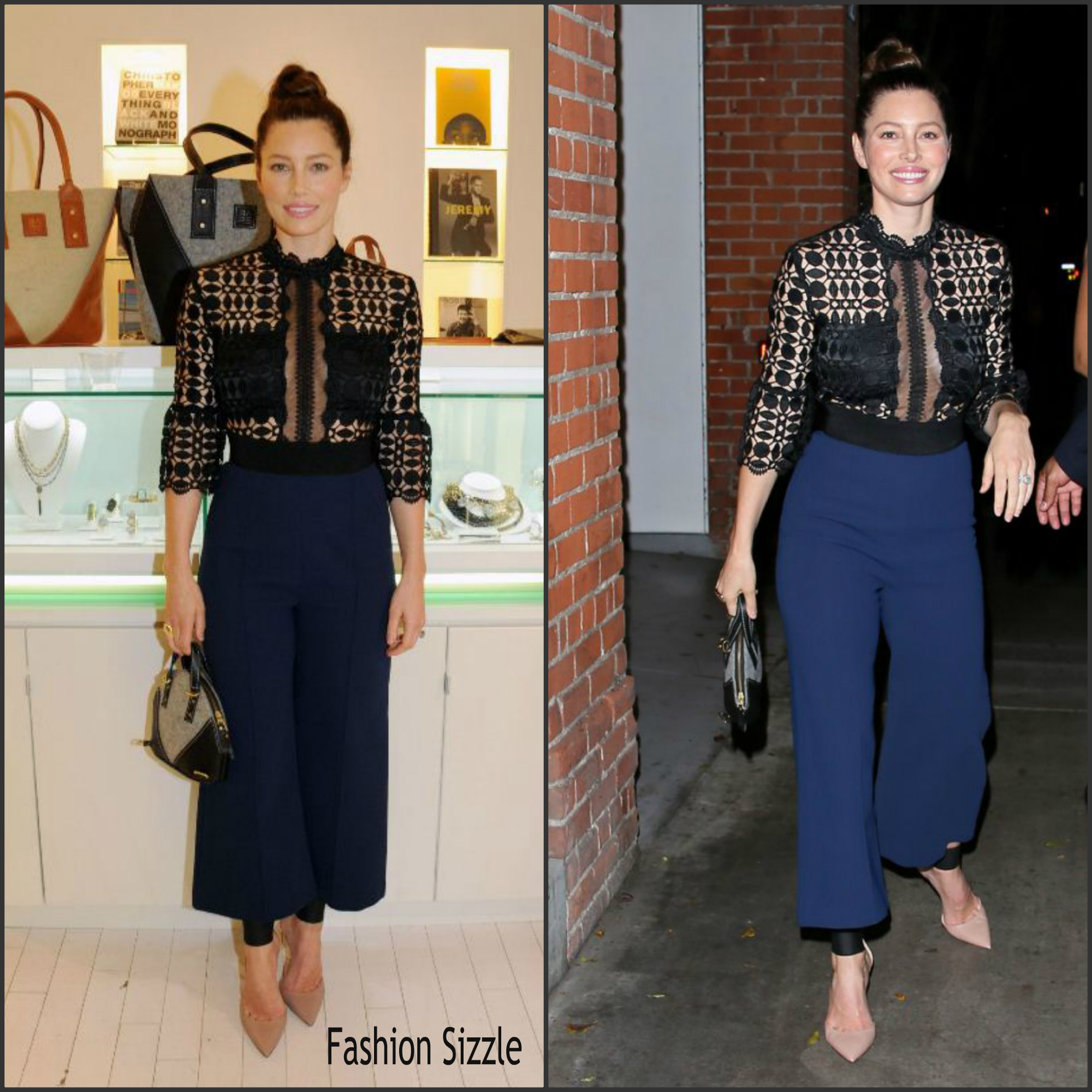 jessica-biel-in-self-portrait-bareitall-bare-aw15-launch