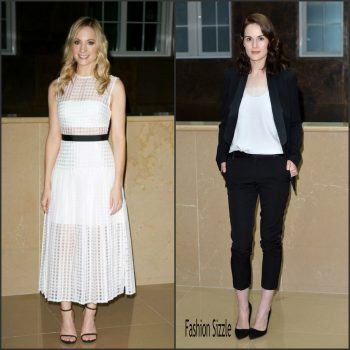 joanne-froggatt-michelle-dockery-at-the-downtown-abbey-press-launch