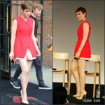 Kate Mara In Christian Dior –  Apple Store Meet The Actors: 'Fantastic Four' in New York City