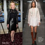 Kirsten Dunst In Louis Vuitton At  'Sleeping With Other People' LA Screening
