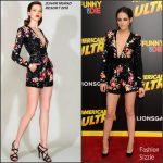 Kristen Stewart  in Zuhair Murad – 'American Ultra'  Los Angeles Premiere