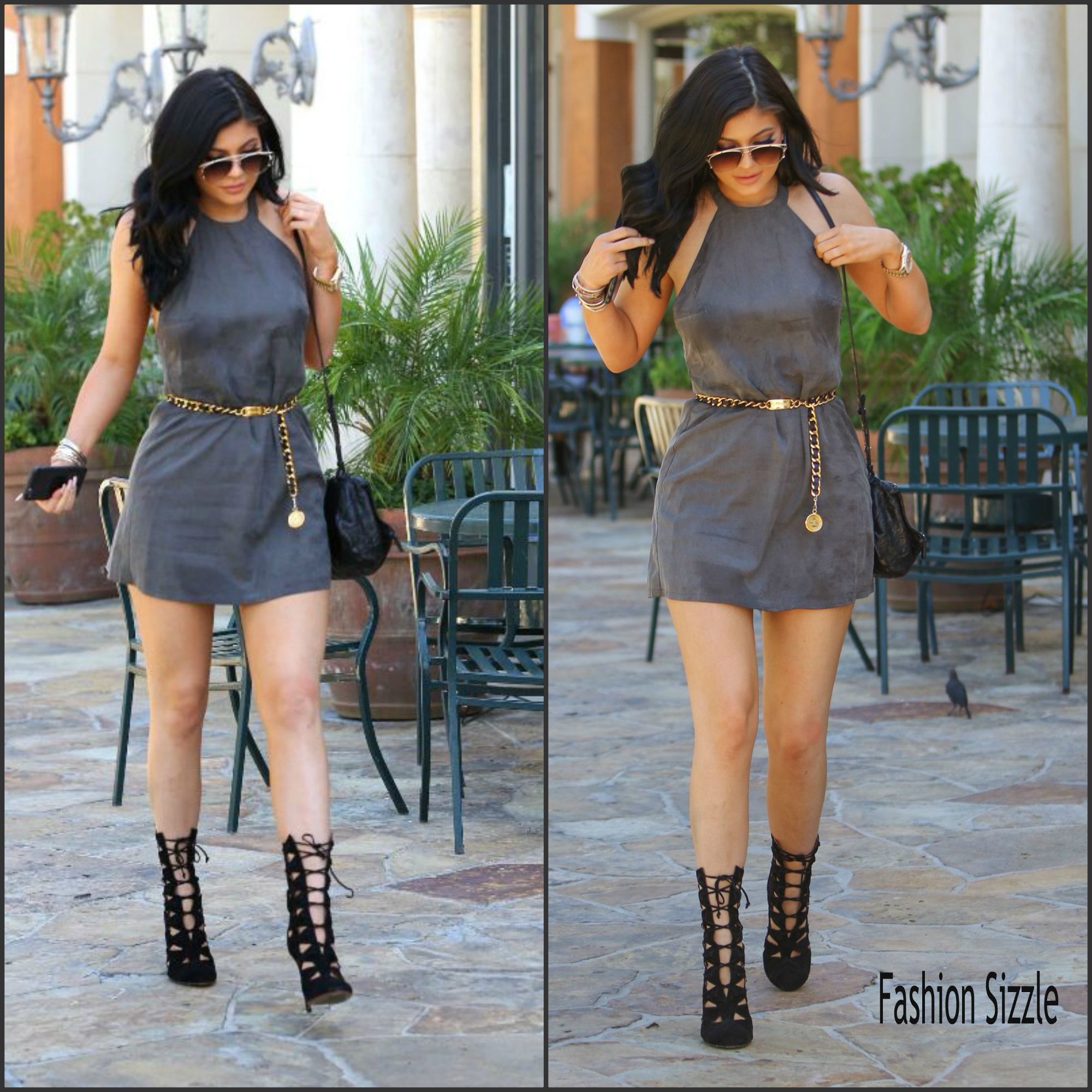 kylie-jenner-in-nbd-dress-out-in-la