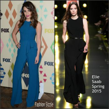 lea-michele-in-elie-saab-fox-all-star-party