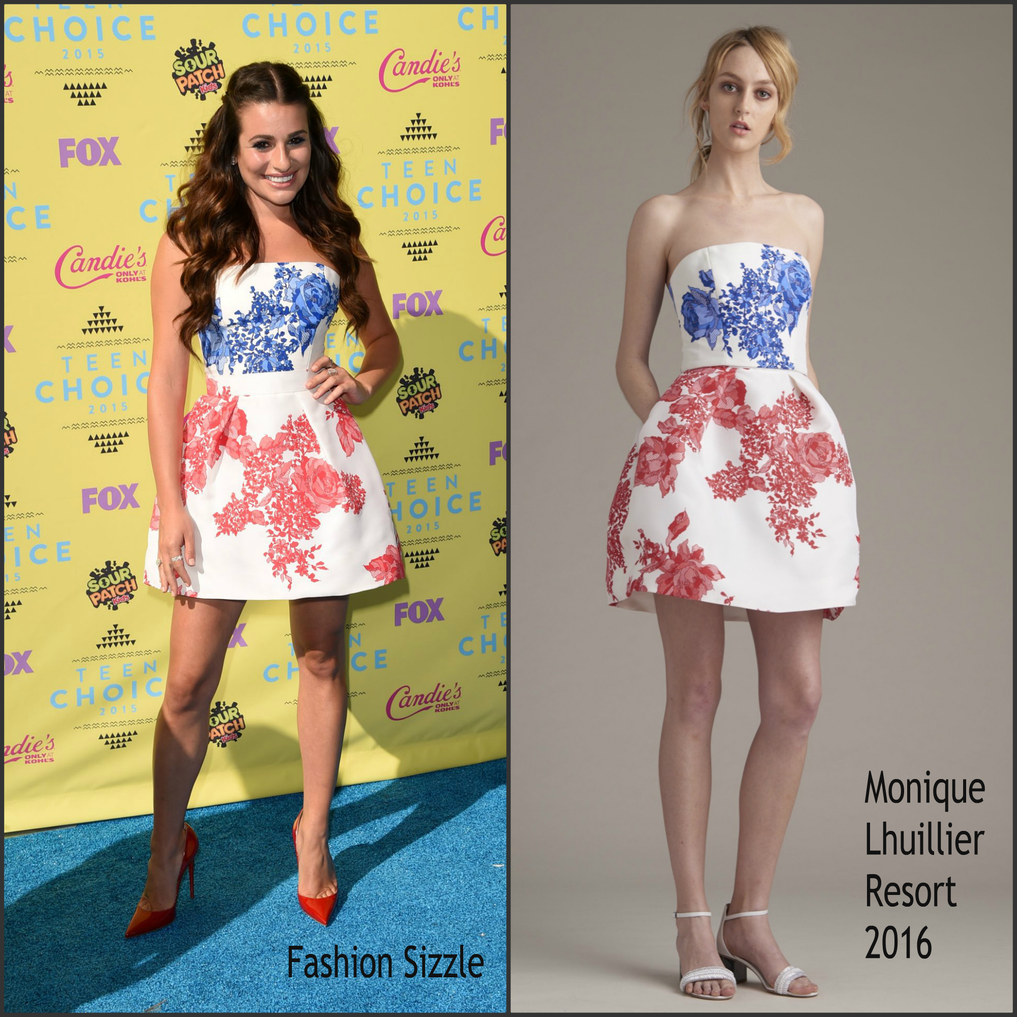 lea-michele-in-monique-lhuillier-at-the-2015-teen-choice-awards