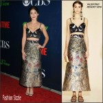 Lizzy Caplan In Valentino  at  CBS' 2015 Summer TCA Party