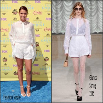 maia-mitchell-in-giamba-2015-teen-choice-awards