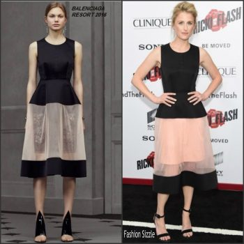 mamie-gummer-in-balenciaga-rick-and-the-flash-new-york-premiere