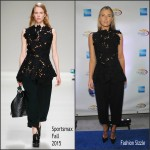 Maria Sharapova In Sportmax At  2015 American Express Rally On the River