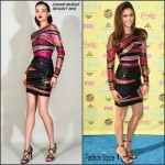 Nina Dobrev In Zuhair Murad  At  2015 Teen Choice Awards